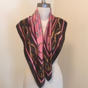 Gorgeous Large Square Silk Scarf